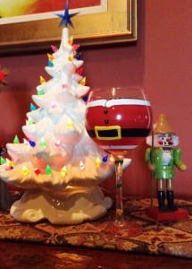 Big Ass Santa Glass